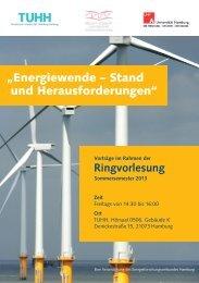 Energiewende – Stand und Herausforderungen - Universität Hamburg