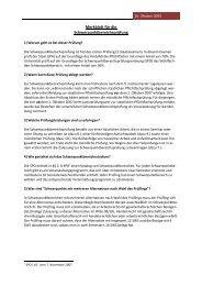 Merkblatt für die Schwerpunktbereichsprüfung - Fakultät für ...