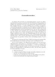 Examensklausurenkurs, Lösungsvorschlag vom 12.01.2013