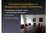 und Universitätsprüfung WS 2011 12 - Juristische Fakultät