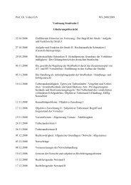 Prof. Dr. Volker Erb WS 2008/2009 Vorlesung Strafrecht I ...