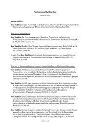 Publikationen Matthias Rau Monographien - Johannes Gutenberg ...