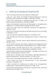 Vorlesungsbibliografie - Fachbereich Rechtswissenschaft der ...