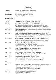 Lebenslauf Bewerbung - Jura - Universität Mannheim