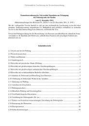 Promotionsordnung - Jura - Universität Mannheim
