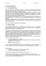 AG Staatsrecht 2 Fall 3 Versammlungsrecht