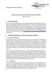 Leitfaden zur Erstellung wissenschaftlicher juristischer Arbeiten