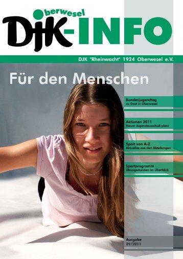 "DJK Info 2011.indd - DJK ""Rheinwacht"""