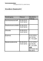 Prüfungen Winter 2011-2012-aktuelle Fassung
