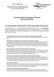 Diese Ankündigung im pdf-Format herunterladen - Universität Passau