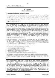 Skript, 6. Abschnitt (§§ 22-24 I-III, S. 17-20)