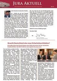 Jura Aktuell 2012-2.pdf - Juristische Fakultät
