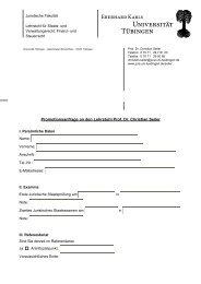 Promotionsanfrageformular - Juristische Fakultät - Universität ...