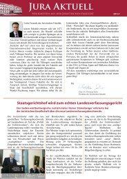 Jura aktuell 2013-I.pdf - Juristische Fakultät