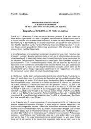 5. Klausur im Strafrecht am 16.11.2013
