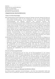 I.Gegenstand des Gesellschaftsrechts - Jurawelt