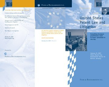 United States Patent Law and Litigation - Jurawelt
