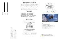 Ausschreibung 2007-08 - Katholisches Jugendreferat | BDKJ ...