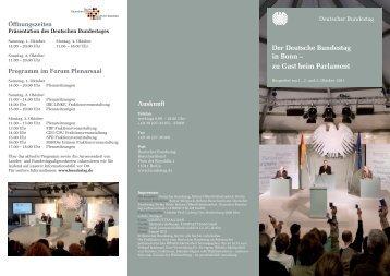 Der Deutsche Bundestag in Bonn – zu Gast beim ... - Die Linke