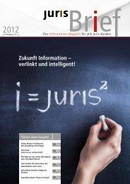 Zukunft Information – verlinkt und intelligent! - Juris