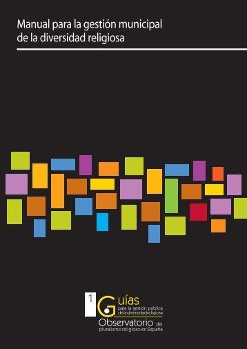 Manual para la gestión municipal de la diversidad religiosa