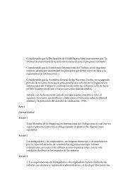 Convenio sobre libertad sindical y protección del derecho de ...