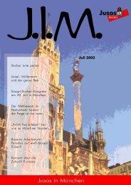 Juli 2002 - Jusos München