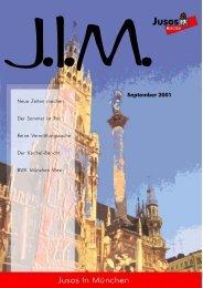 September 2001 - Jusos München