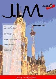 September 2002 - Jusos München