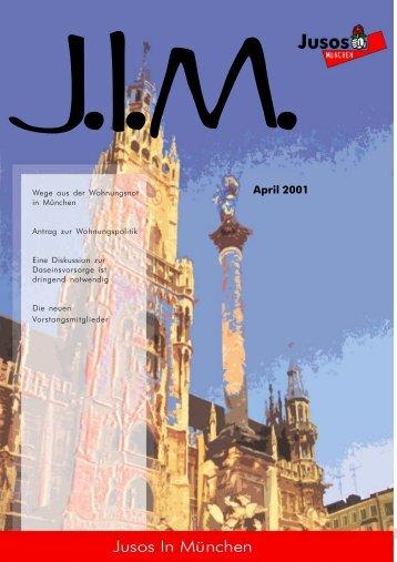 April 2001 - Jusos München