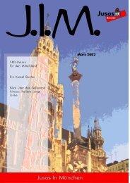 März 2002 - Jusos München
