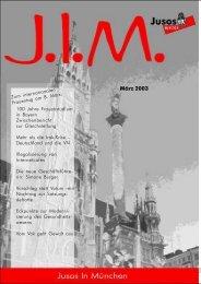 März 2003 - Jusos München