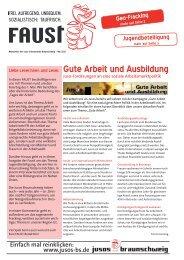 FAUST#20 - Mai 2012 - Jusos Stadt Braunschweig