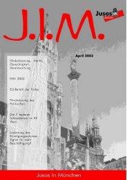 April 2003 - Jusos München