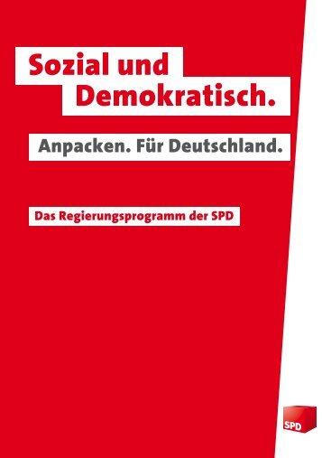 Sozial und Demokratisch. - Jusos