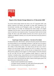 Report of the Climate Change Network on 10 November 2009 - Jusos