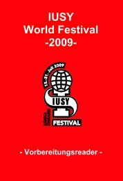 IUSY World Festival -2009- - Jusos