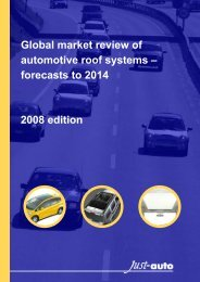Global market review of automotive roof systems ... - Just-Auto.com
