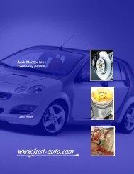 ArvinMeritor Inc.: Company profile - Just-Auto.com
