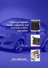 Front-end modules - Just-Auto.com