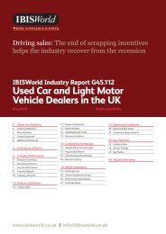 Used Car and Light Motor Vehicle Dealers in the UK - Just-Auto.com