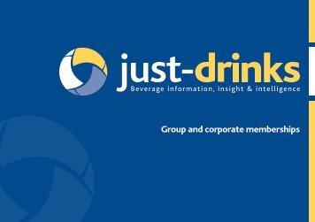 Download a brochure - Just-Drinks