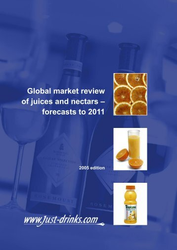 The global market for juices and nectars - Just-Drinks