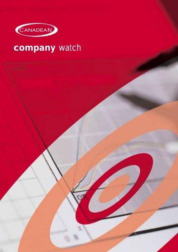 company watch - Just-Drinks