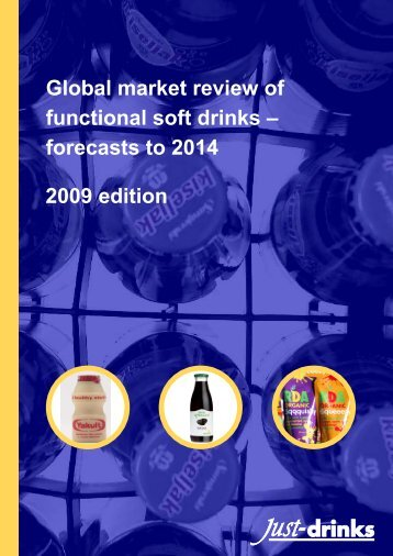 Global market review of functional soft drinks ... - Just-Drinks