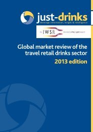 Global market review of the travel retail drinks sector ... - Just-Drinks