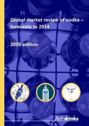Download a sample of this report - Just-Drinks