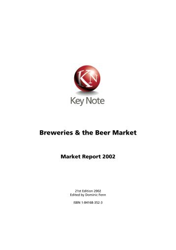 Breweries & the Beer Market - Just-Drinks