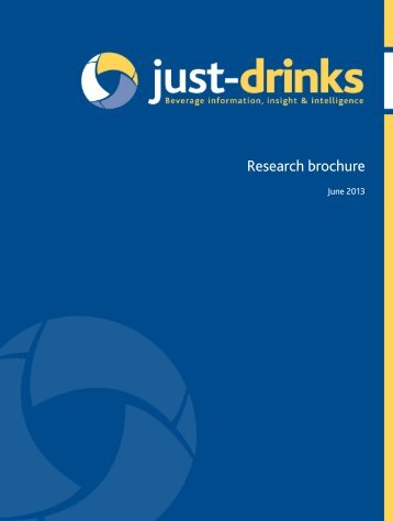 Research brochure - Just-Drinks