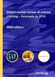 Global market review of outsize clothing – forecasts to - Just-Style.com
